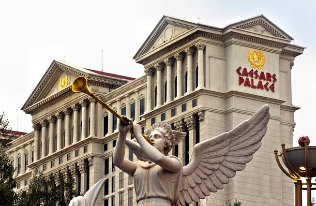 Exteriors of Caesars Palace 2015